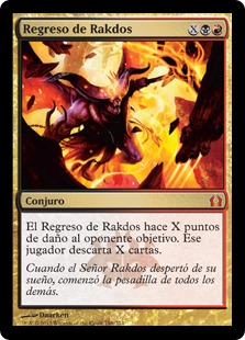 Regreso de Rakdos - Rakdos's Return