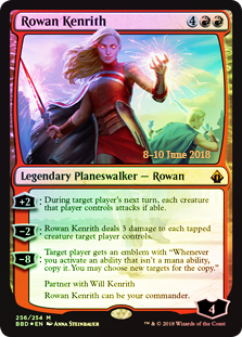 Rowan Kenrith (Foil)(Launch)