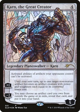 Karn, el Gran Creador - Karn, the Great Creator (Foil)