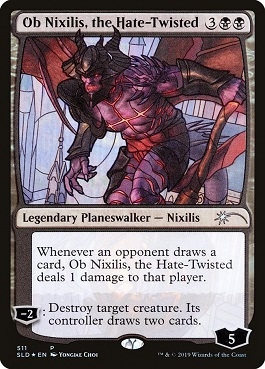 Ob Nixilis, deformado por el odio - Ob Nixilis, the Hate-Twisted (Foil)