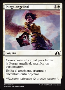 Purga angelical - Angelic Purge (Foil)