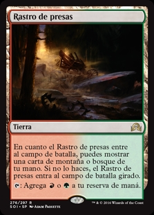Rastro de presas - Game Trail