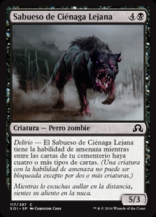 Sabueso de Ciénaga Lejana - Hound of the Farbogs