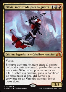 Olivia, movilizada para la guerra - Olivia, Mobilized for War (Pre-Release)(Foil)