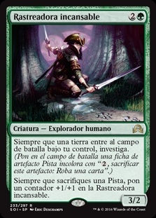 Rastreadora incansable - Tireless Tracker