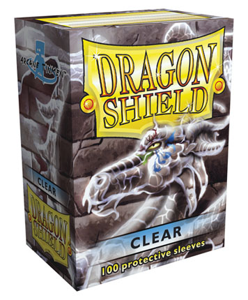 Protectores Dragon Shield - Transparente (x100)