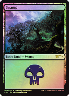 Pantano - Swamp (Foil)(Standard Showdown)