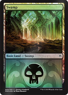 Pantano - Swamp (Foil)(Dimir)(Ravnica Weekend)