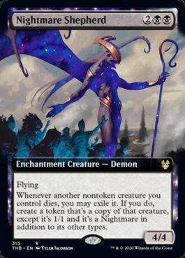 4 rcards Nightmare Muse-X1-Theros Beyond Death-Pre-PEDIDO Ashiok