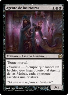 Agente de las Moiras - Agent of the Fates (Foil)