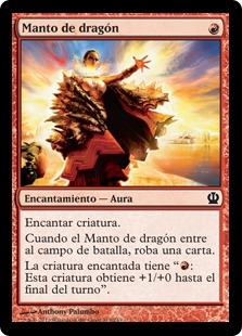 Manto de dragón - Dragon Mantle