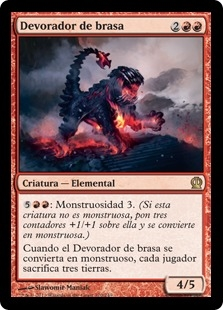 Devorador de brasa - Ember Swallower