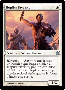 Hoplita favorito - Favored Hoplite