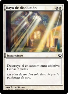 Rayo de disolución - Ray of Dissolution