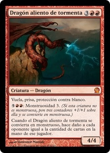 Dragón aliento de tormenta - Stormbreath Dragon