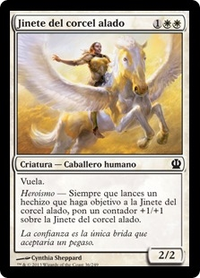 Jinete del corcel alado - Wingsteed Rider