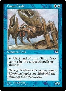 Cangrejo gigante - Giant Crab