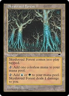 Bosque de Veloceleste - Skyshroud Forest