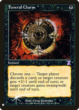 Amuleto funerario - Funeral Charm (Mystery Booster)(Foil)