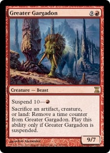 Gigantodón superior - Greater Gargadon (MP)