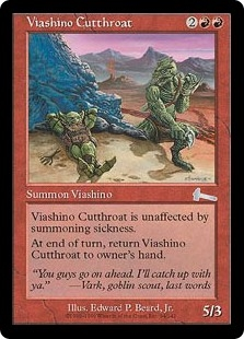 Asesino viashino - Viashino Cutthroat