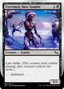 Extremely Slow Zombie (Winter)(Foil)