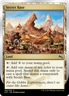Secret Base (Goblin Explosioneers)(Foil)