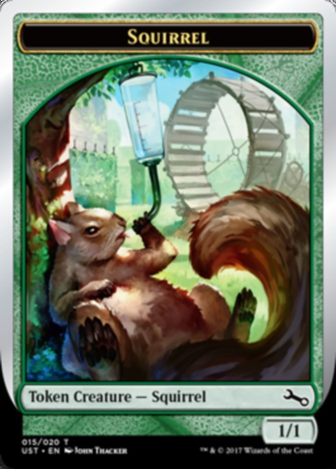 Squirrel Token (Foil)