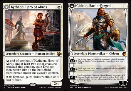 Kytheon, héroe de Akros - Kytheon, Hero of Akros // Gideon, Battle-Forged - Gideon, forjado en la batalla