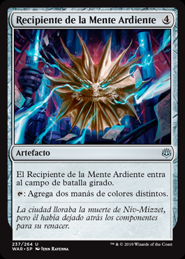 Recipiente de la Mente Ardiente - Firemind Vessel