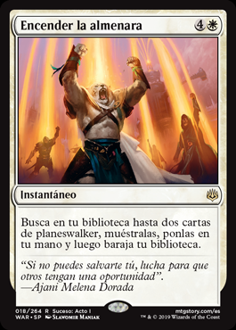 Encender la almenara - Ignite the Beacon (Pre-Release)(Foil)