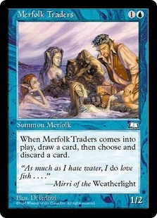 Mercaderes tritones - Merfolk Traders (LP)