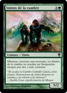 Simios de la cumbre - Summit Apes