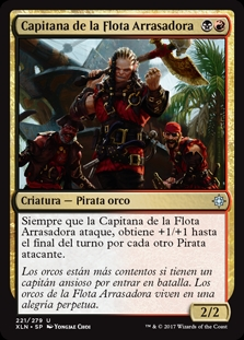 Capitana de la Flota Arrasadora - Dire Fleet Captain