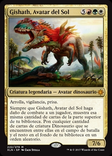 Gishath, Avatar del Sol - Gishath, Sun's Avatar