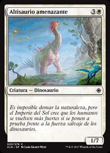 Altisaurio amenazante - Looming Altisaur