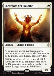 Sacerdote del Sol Albo - Priest of the Wakening Sun