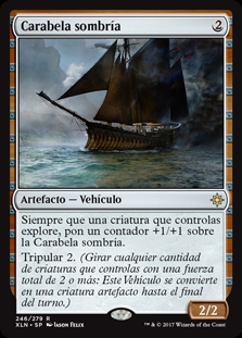 Carabela sombría - Shadowed Caravel