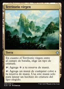 Territorio virgen - Unclaimed Territory