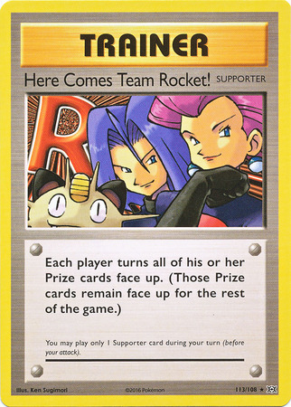 Here Comes Team Rocket! (Secret Rare)
