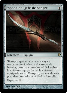 Espada del jefe de sangre - Blade of the Bloodchief