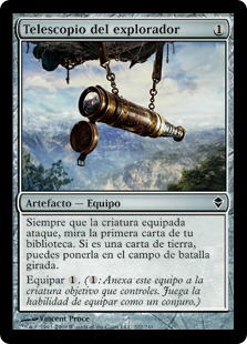 Telescopio del explorador - Explorer's Scope (Foil)