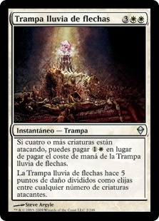 Trampa lluvia de flechas - Arrow Volley Trap