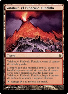 Valakut, el Pináculo Fundido - Valakut, the Molten Pinnacle