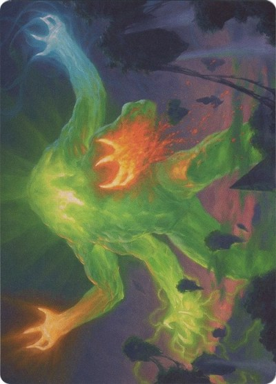 Art Series: Omnath, Locus of Creation (No legal en torneos)