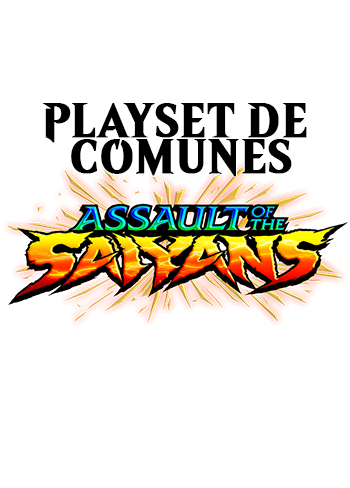 Playset de comunes Assault of the Saiyans